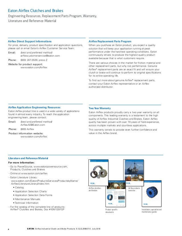 Eaton airflex clutch and brakes by application Kaizen Systems distr…