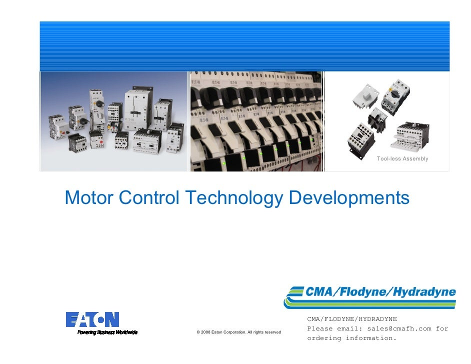 Tool-less Assembly     Motor Control Technology Developments                                                              ...