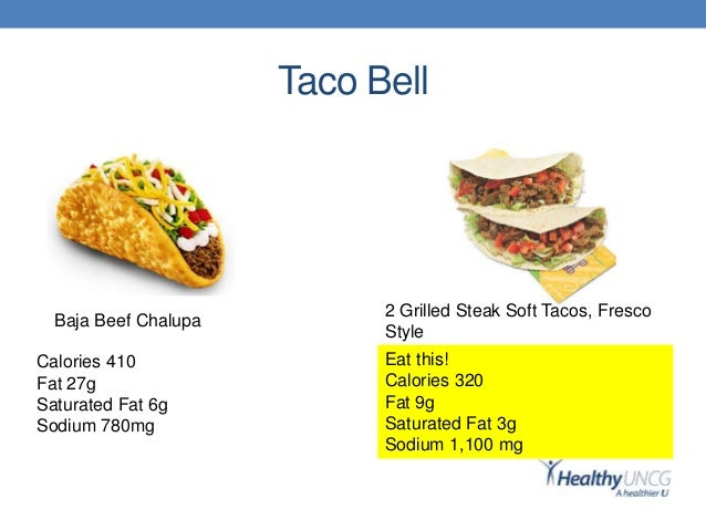 Taco Bell Fast Food