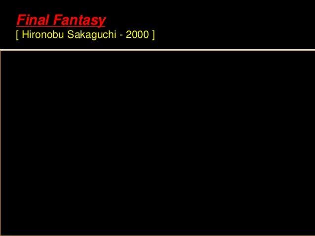 Final Fantasy [ Hironobu Sakaguchi - 2000 ]