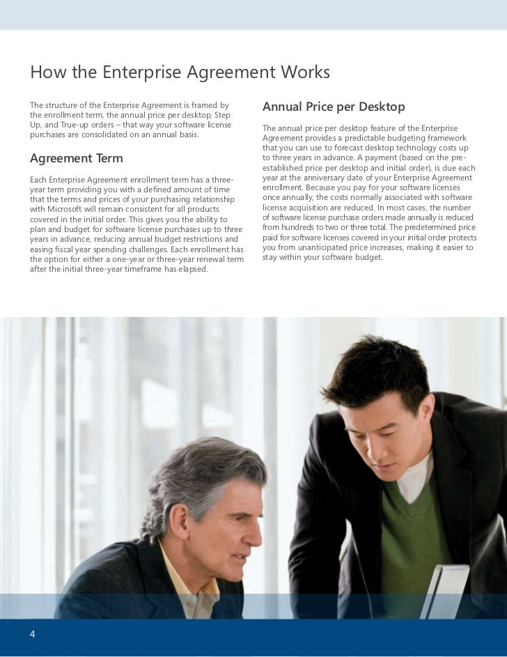 Desktop enterprise agreement business value for the bdm step up true up orders defined with an enterprise agreement it is possible to migrate during the time you are enrolled in the enterprise from standard platinumwayz