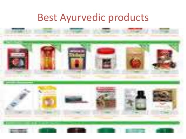 organic ayurvedic products