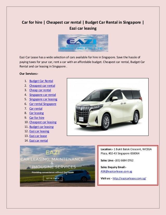 Cheap Car Leasing >> Eazi Car Lease