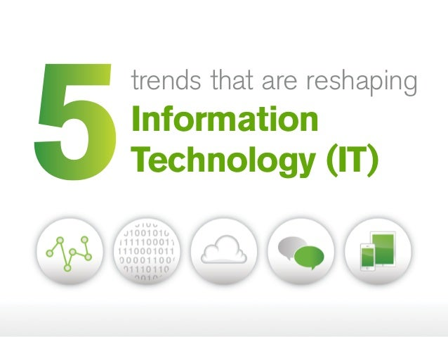 information technology trends Research corridor recently added new report titled information technology research market report - global trends, market share, industry size, growth, opportunities, and market forecast - 2018 – 2026 to its repertoire.