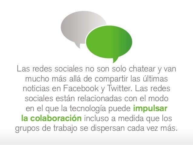 Las redes sociales no son solo chatear yvan mucho más allá de compartir las últimas noticias en Facebook y Twitter. Las r...