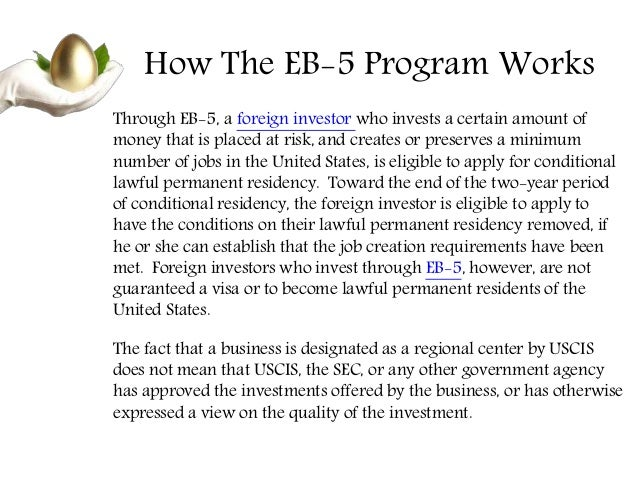 Eb 5 offerings - Office of investor education and advocacy ...