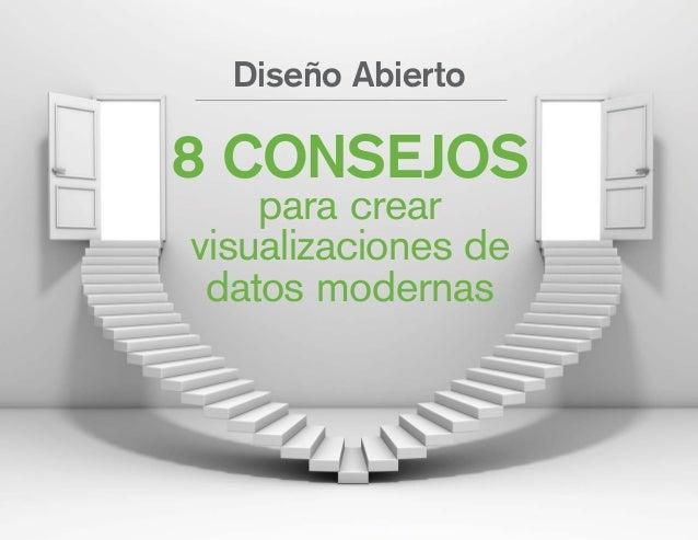 8 CONSEJOS para crear visualizaciones de datos modernas Diseño Abierto
