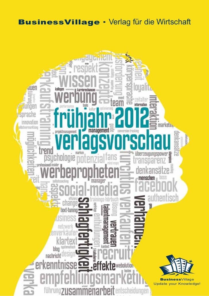 BusinessVillage • Verlag für die Wirtschaft                                   BusinessVillage                             ...