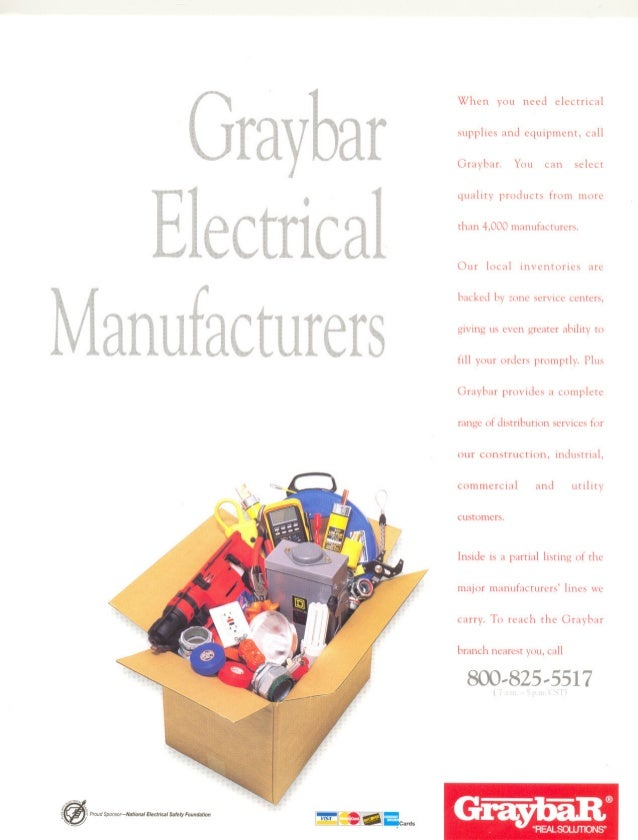 Graybar Electrical Manufacturers
