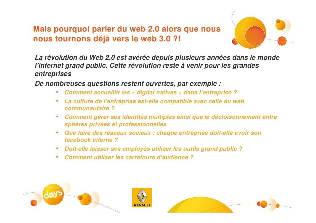 Eb05  Vers L Entreprise 2.0 Les Enjeux Et Les Risques Du Web 2.0 Pour Les Entreprises Slide 2