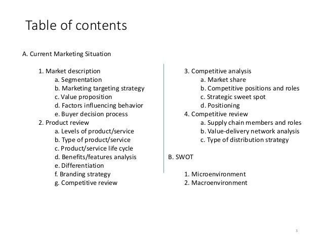 Microsoft Surface Pro 3 Marketing Plan – Microsoft Competitive Analysis
