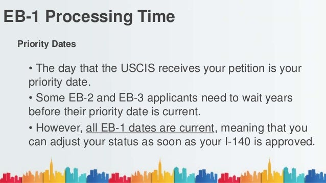 EB-1 Processing Time for 2017