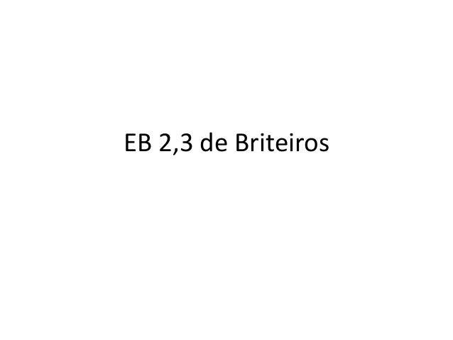 EB 2,3 de Briteiros