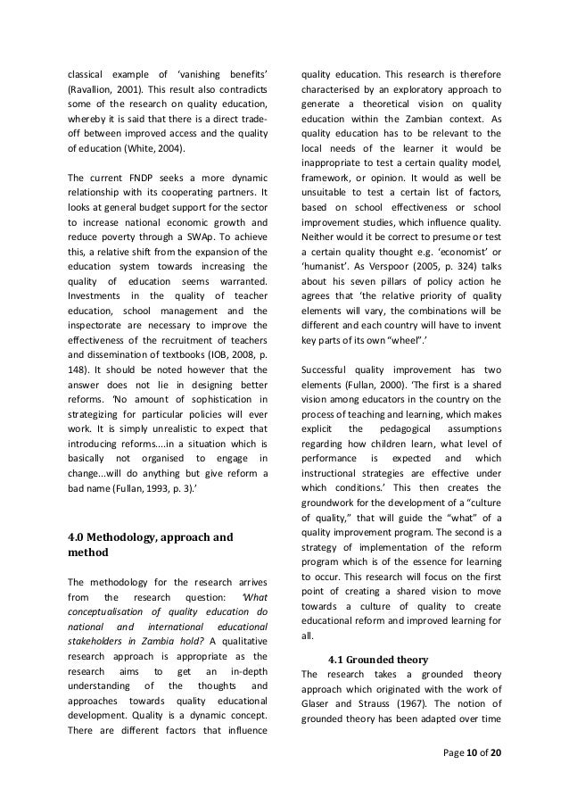 qualitative research papers education The research journal: a tool for promoting and understanding researcher development1 simon borg school of education, university of leeds conventional report on a piece of research,this paper explores.
