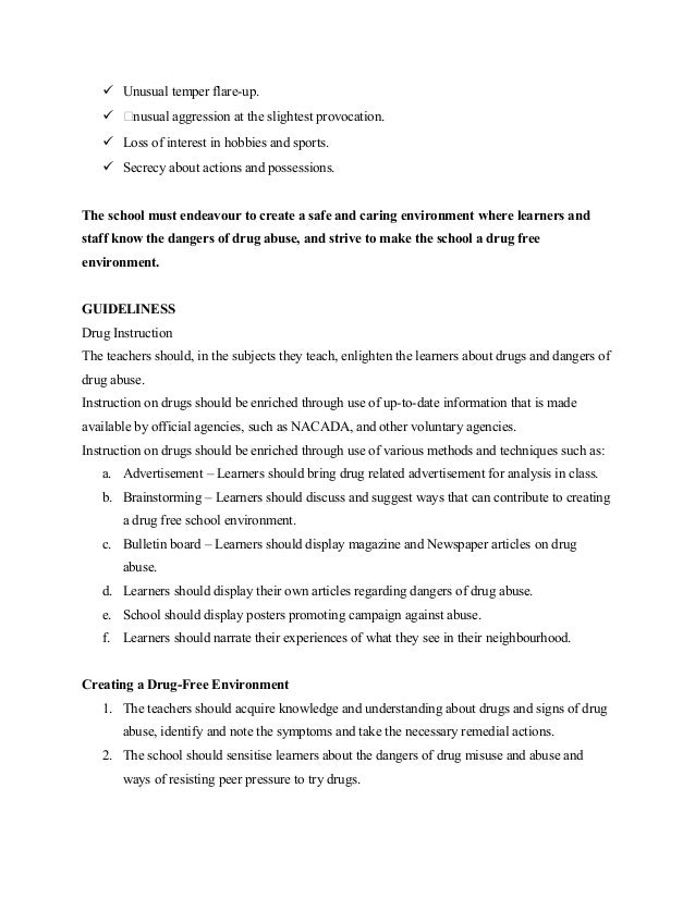 An Essay On Criticism Analysis Drugs And Substance Abuse Sensitization  Careers Essay also Example Of A Profile Essay Substance Abuse Essay Drugs And Substance Abuse Sensitization Best  Effect Essay Examples