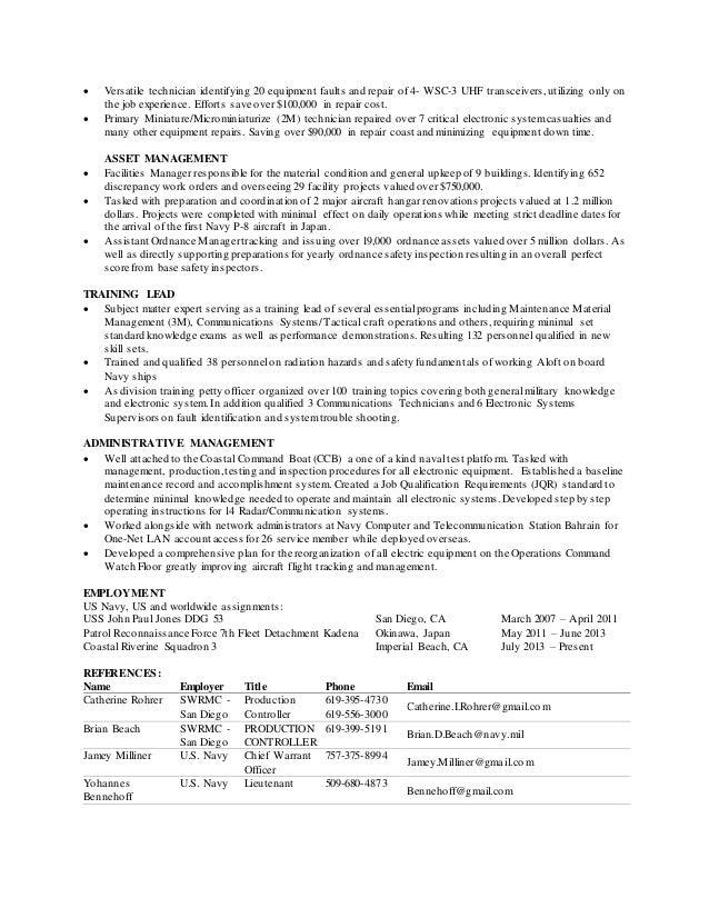 andrew garcia technician resume