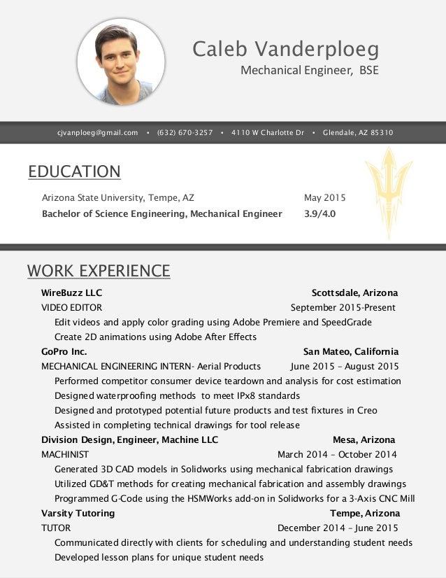 mechanical engineer essay