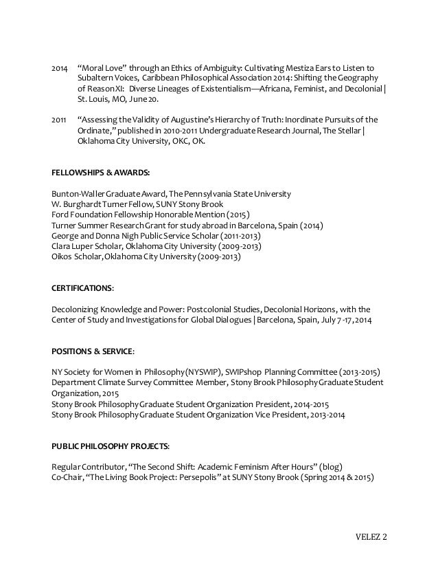 Cover Letter Examples Psu