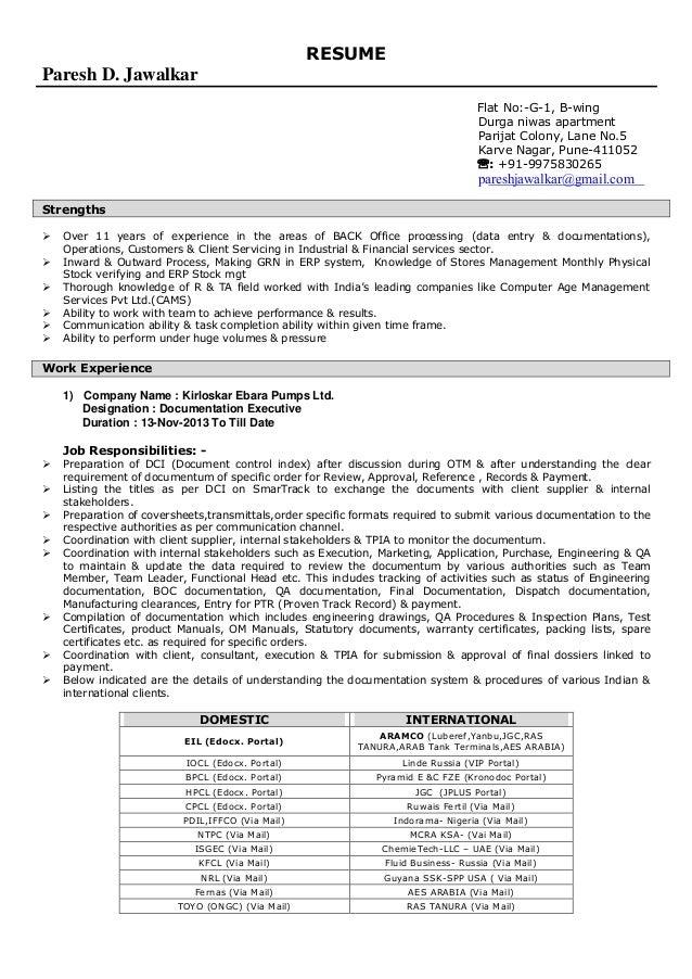 Paresh Resume