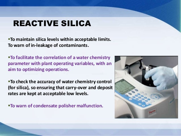 SIGNIFICANCE OF STEAM WATER PARAMETERS