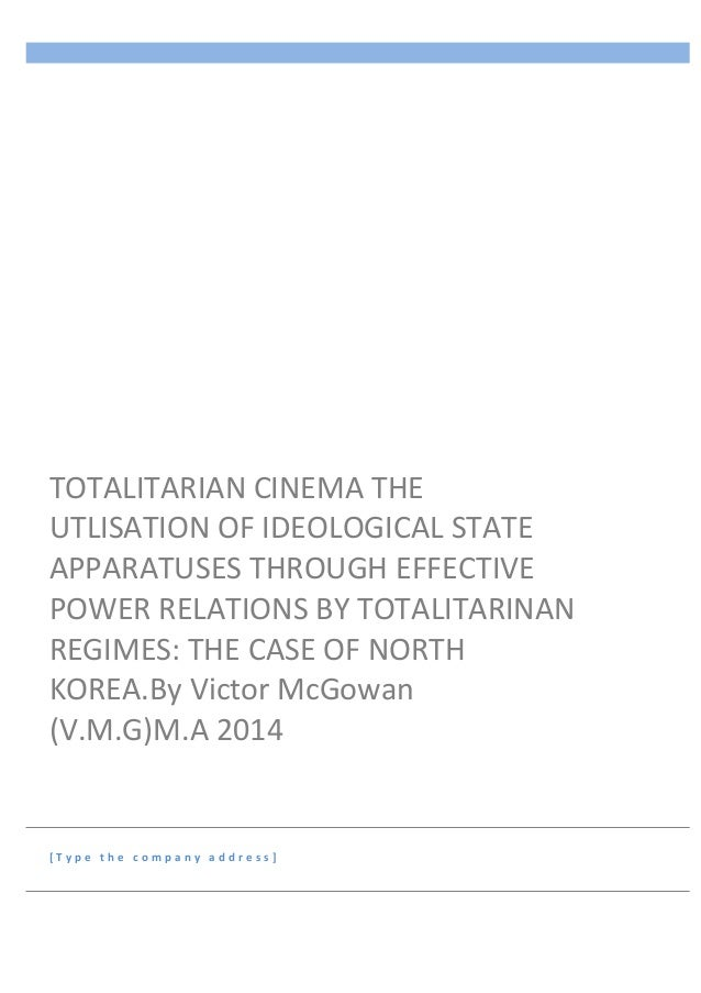 effects of totalitarianism