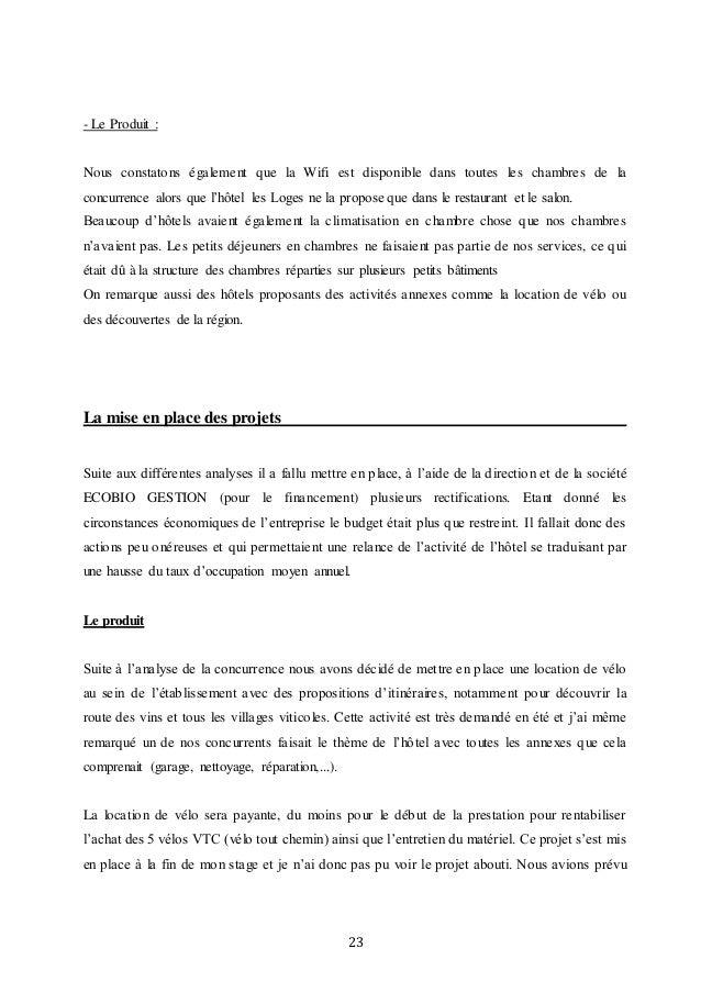Exemple Rapport De Stage Bts Gpn - Le Meilleur Exemple