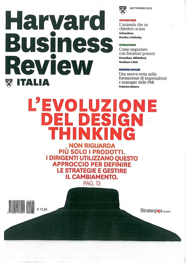 Harvard Business Review Sett2015 Beltrami