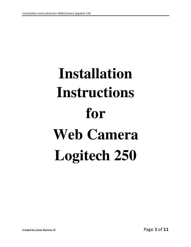 Bosch web cam install instructions by implant direct issuu.