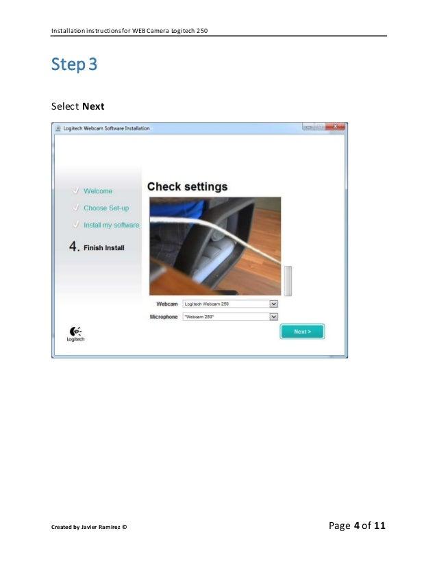 Logitech quickcam express web cam usb port cd & instructions.