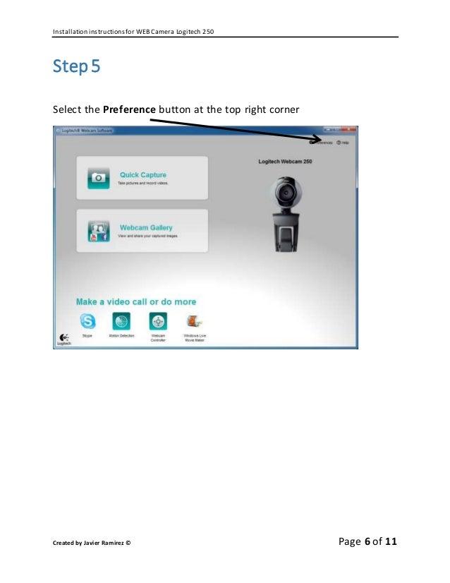 Logitech c525 hd web cam - cd, instructions | #1792260253.