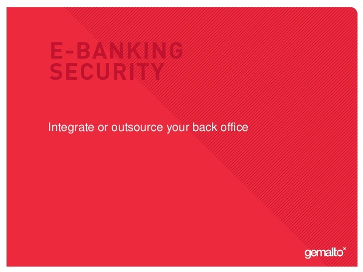Integrate or outsource your back office