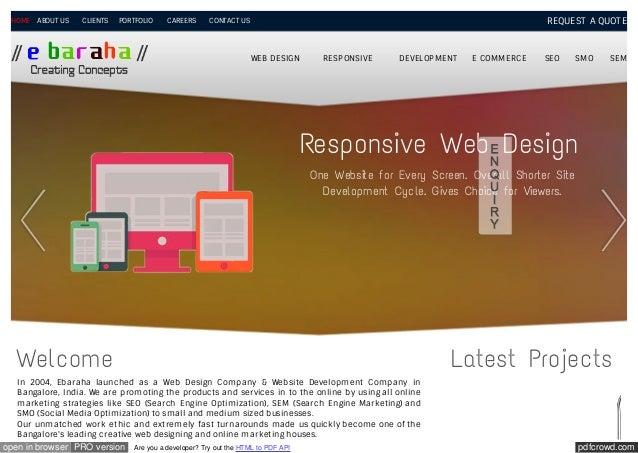 Ebaraha pdf files | Web Design Company Profile PDF