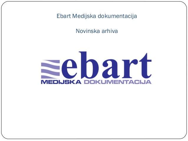 Ebart Medijska dokumentacija Novinska arhiva