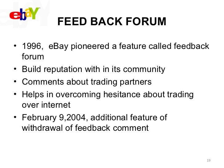 Strategic Mgt Of Ebay