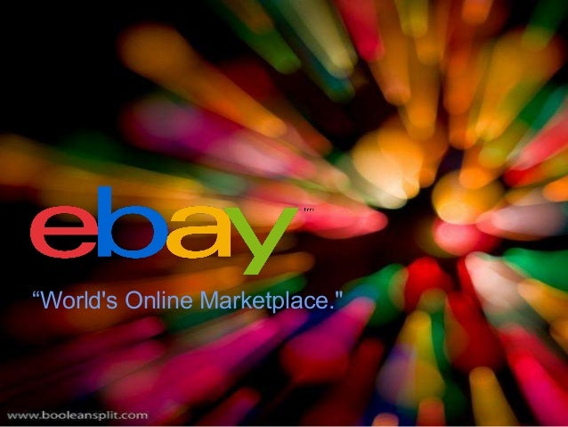 """World's Online Marketplace."""