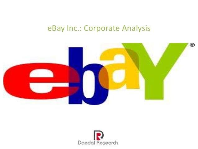 eBay Inc.: Corporate Analysis