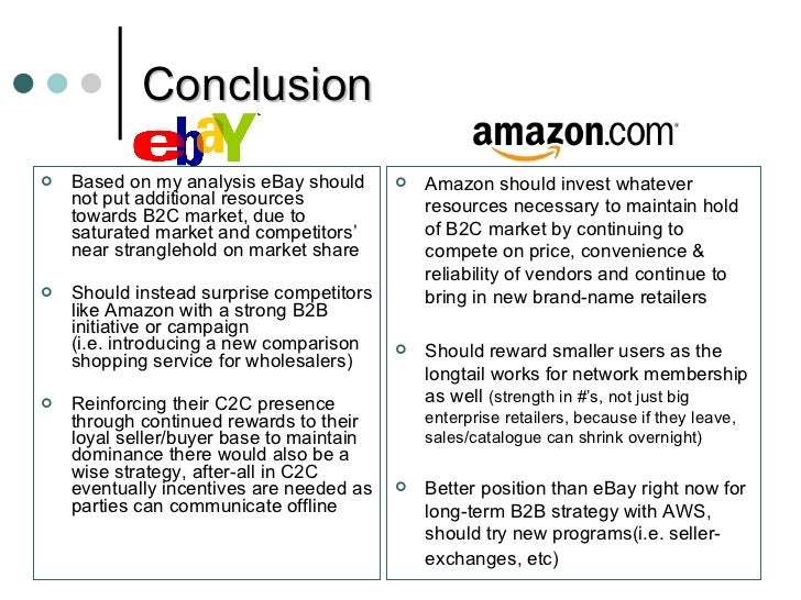 Case study analysis ebay