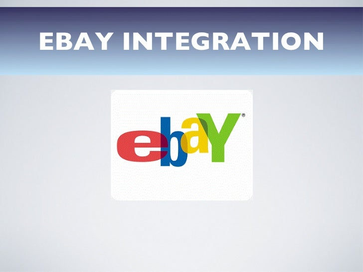 EBAY INTEGRATION