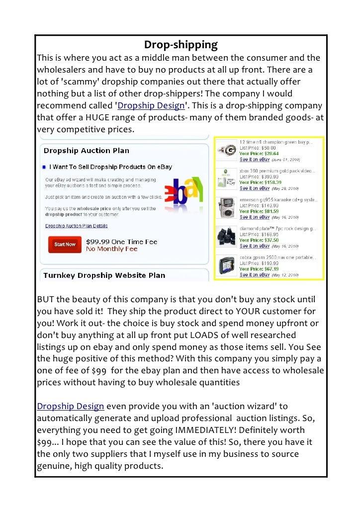 how to make money through ebay