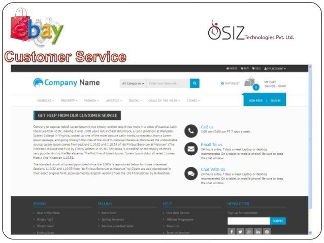 Ebay clone - Osiz Technologies