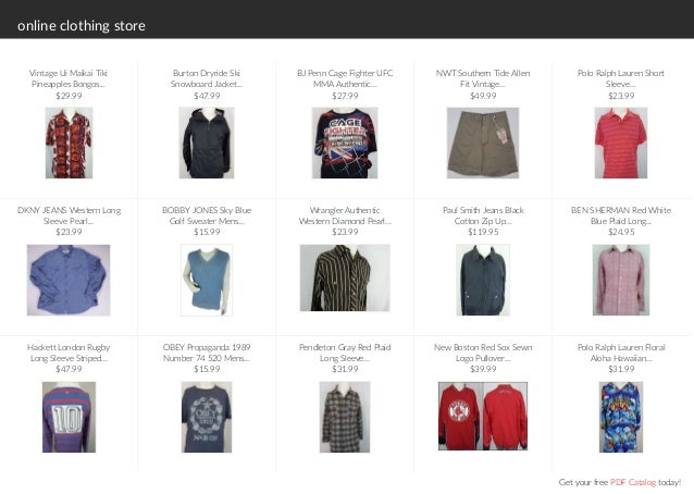 Uk clothing catalogues online