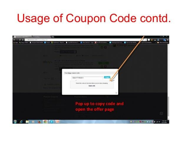 ebay discount coupon codes december