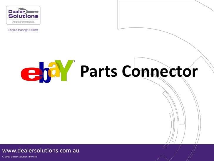 Parts Connector<br />