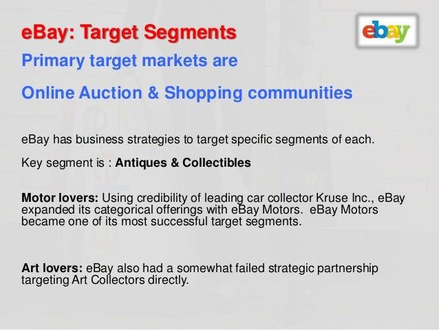 ebay objectives