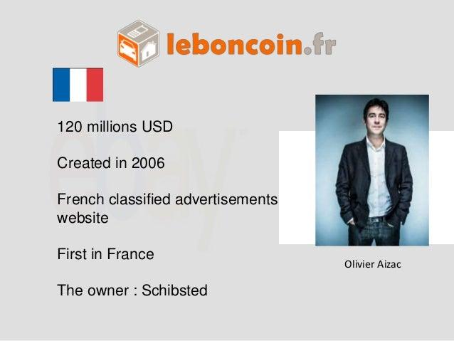 80  70  60  50  40  30  20  10  0  Amazon Ebay Alibaba Rakuten Groupon Le bon  coin  Revenue