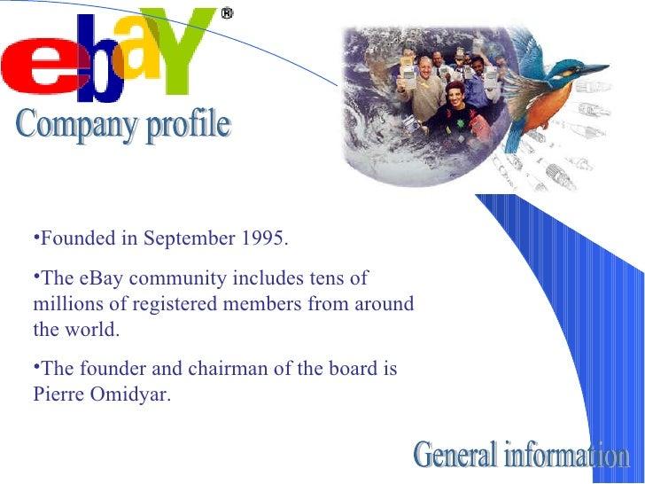 Ebay presentation Slide 2