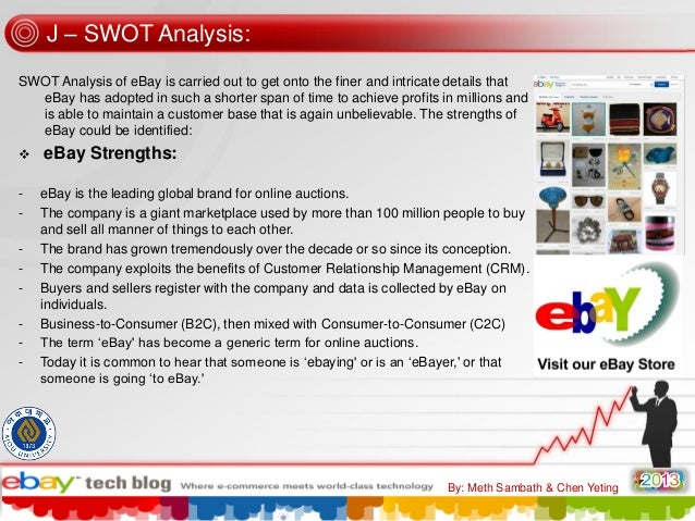 ebay inc case analysis Ebay inc company profile from hoover's – get an in-depth analysis of ebay inc business, financials, industry focus, competitors and more.