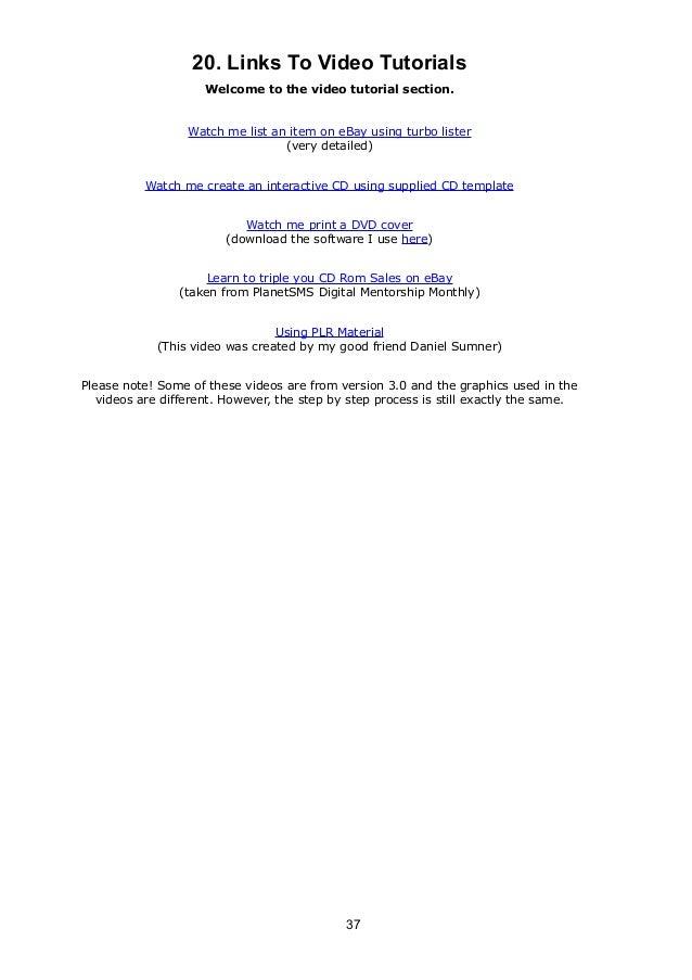 Ebay Rain Money Guide