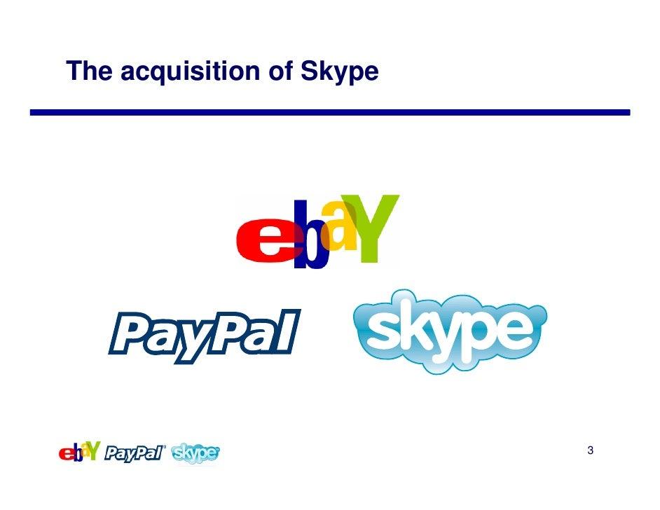 E Bay Skype Acquisition Slide 3