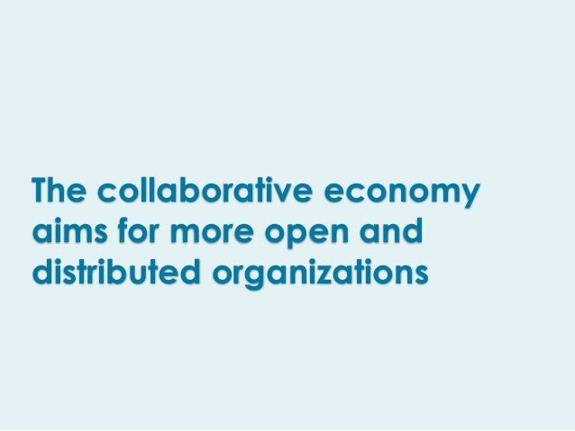 • Are the collaborative economy initiatives having a positive impact in your life? ! • Will the collaborative models disru...